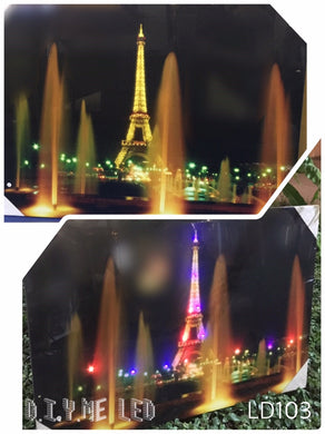 LED Picture LD108  Eiffel Tower