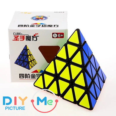 Rubik Pyramid 4 Layers SS