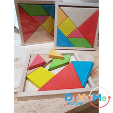 Wood Puzzle Square NEW!