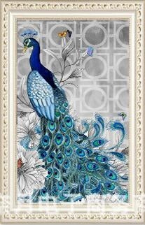 CD1027 Crystal 5D Peacock40*58