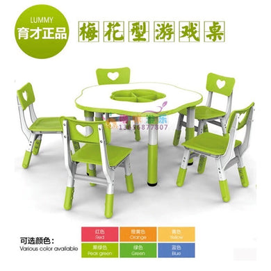 Table Octagon Flower Shape TB004