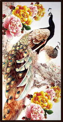 CD10272 Crystal 5D Elegant Peafowl60*120