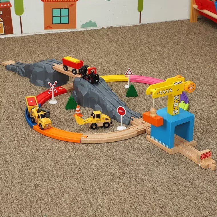 Woodtoy Train for Kids Edwond
