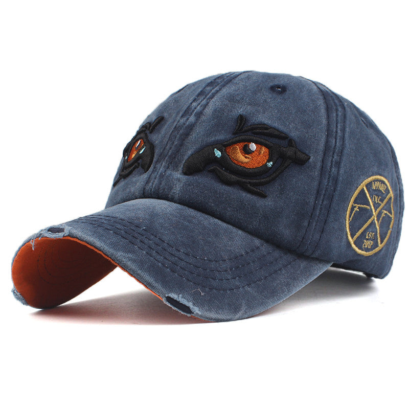 cap Embroidery Eye Casquette Gorras Planas snapback Hat – Shopping ... 468f87dfcf9