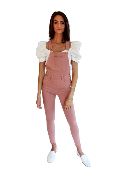 THE DUSTY ROSE HIGH RISE SKINNY