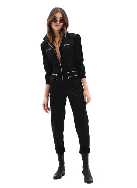 UTILITY JUMPSUIT BLACK