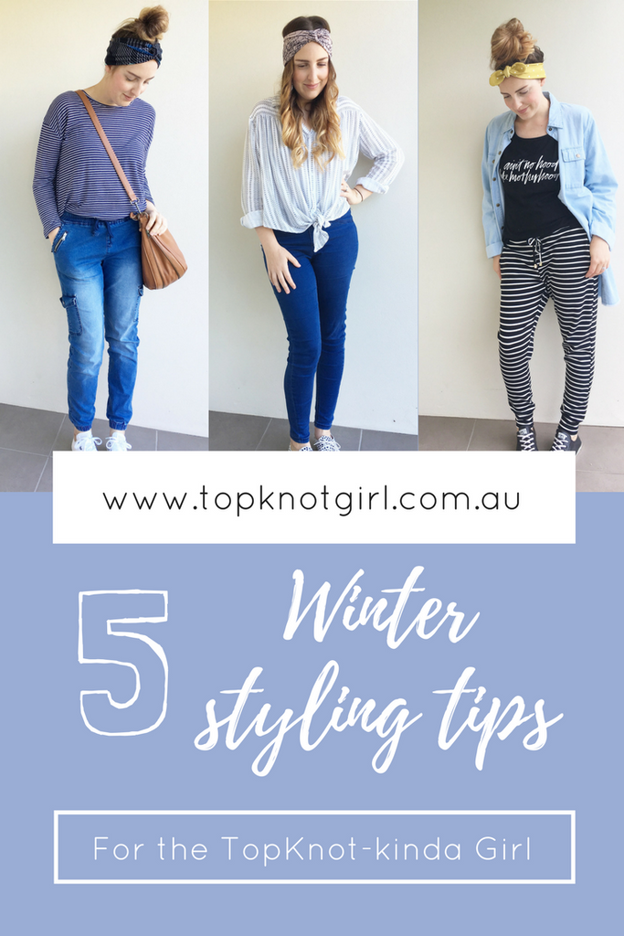 Winter Styling Tips for the TopKnot kinda Girl