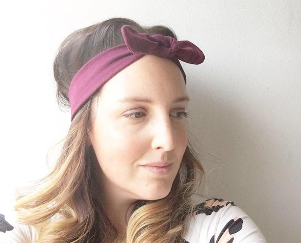 Black BowKnot Headband