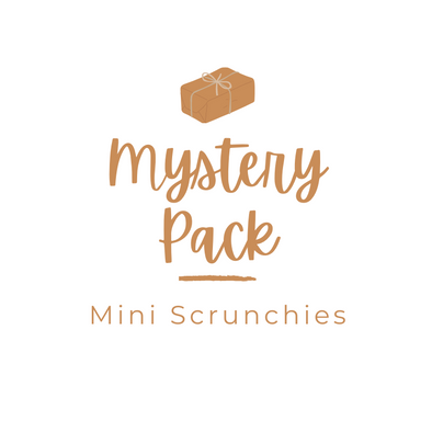 Mystery Scrunchie Pack - Mini Size