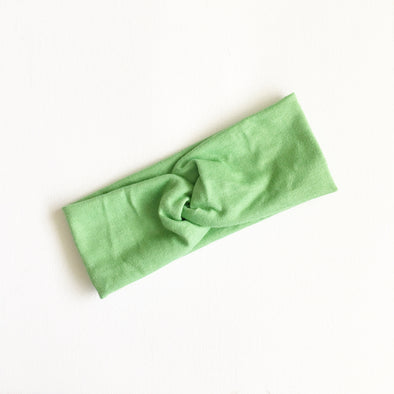 Pea Pod WideKnot Headband