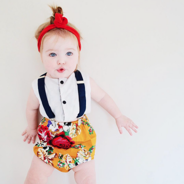 Red BowKnot Headband