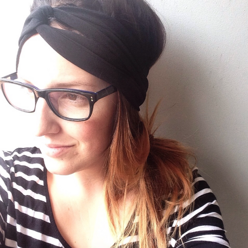 Black TwistKnot Headband