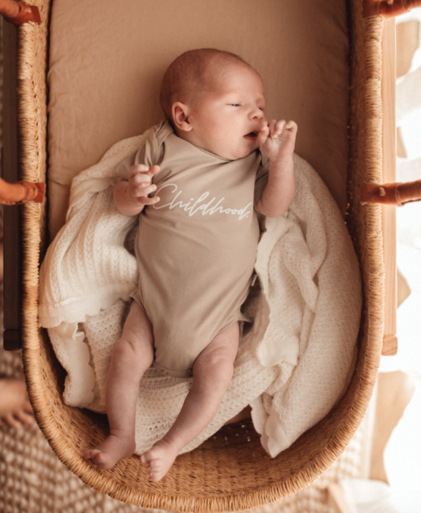 'Childhood' Baby Bodysuit