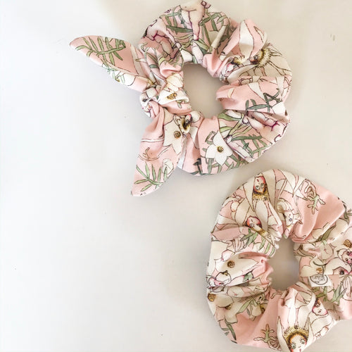 May Gibbs Blush Scrunchie