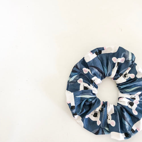 Blue Koala Scrunchie
