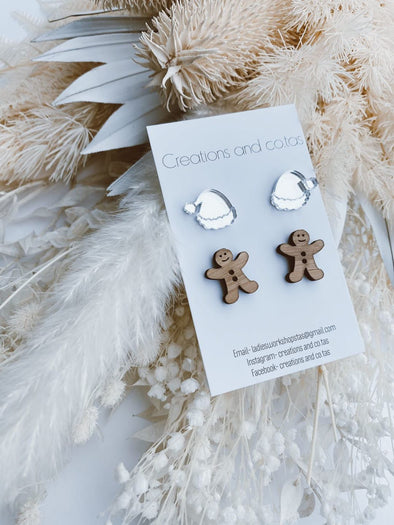 Christmas Stud Earring Pack