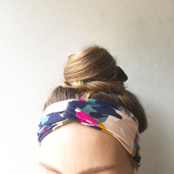 Painted TwistKnot Headband