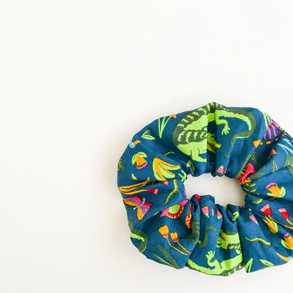 Crocodilia Scrunchie