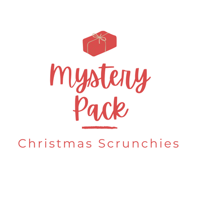 Mystery Scrunchie Pack - Christmas