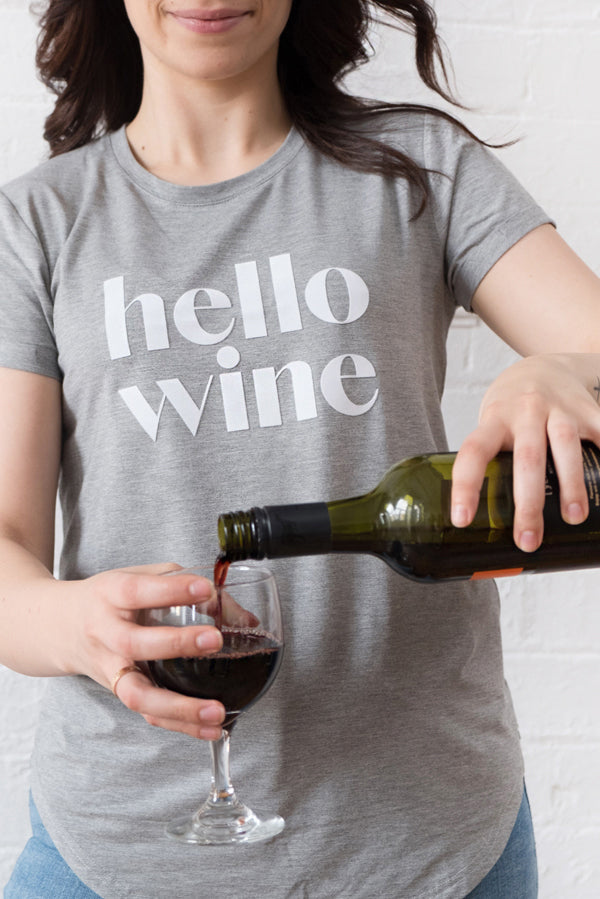 'Hello Wine' T-Shirt