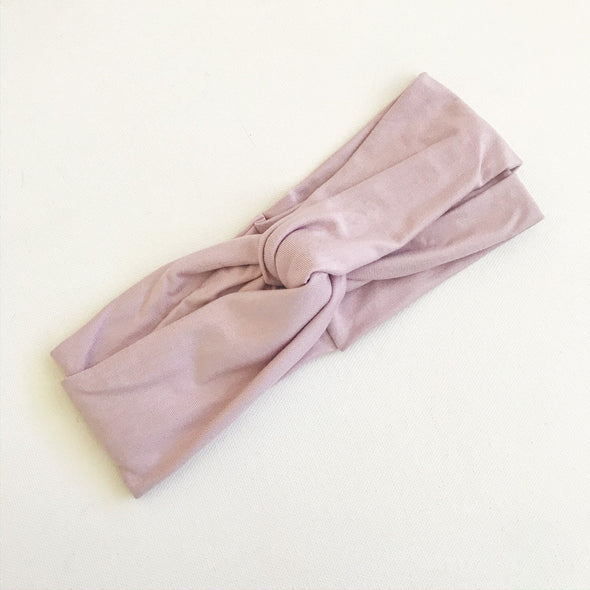 Mauve TwistKnot Headband (size S only)
