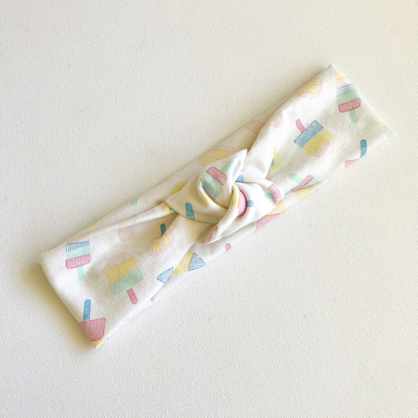 Popsicle TopKnot Headband
