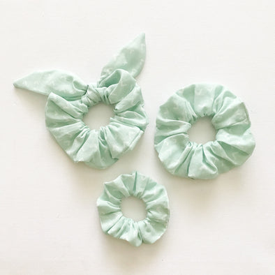 Mint Arrow Scrunchie
