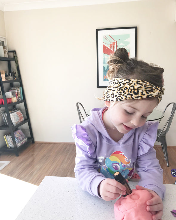 Cheetah TwistKnot Headband