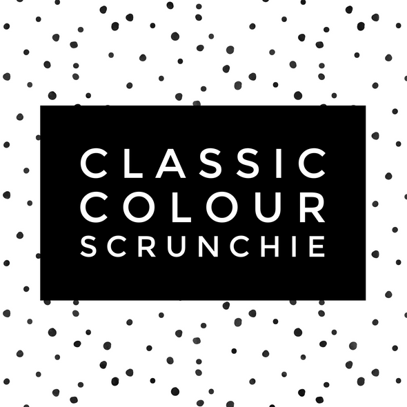 Classic Scrunchies [Choose Colour]