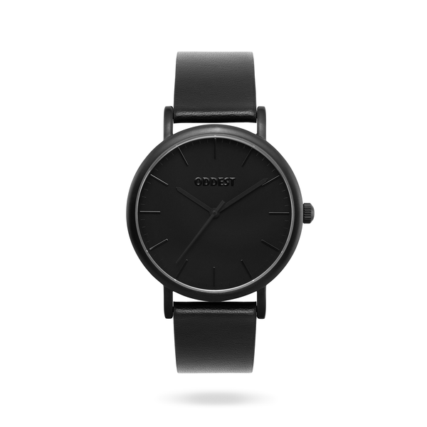 Oddest EC1 Series- Mens womens minimal watch black