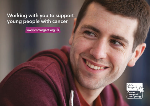 Working with you to support young people with cancer