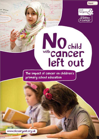 No child with cancer left out
