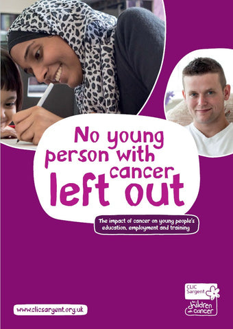 No young person with cancer left out