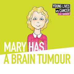 Children's storybook - Mary has a brain tumour