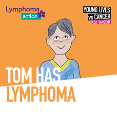 Children's storybook - Tom has lymphoma