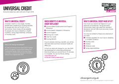 Financial factsheet - Universal Credit