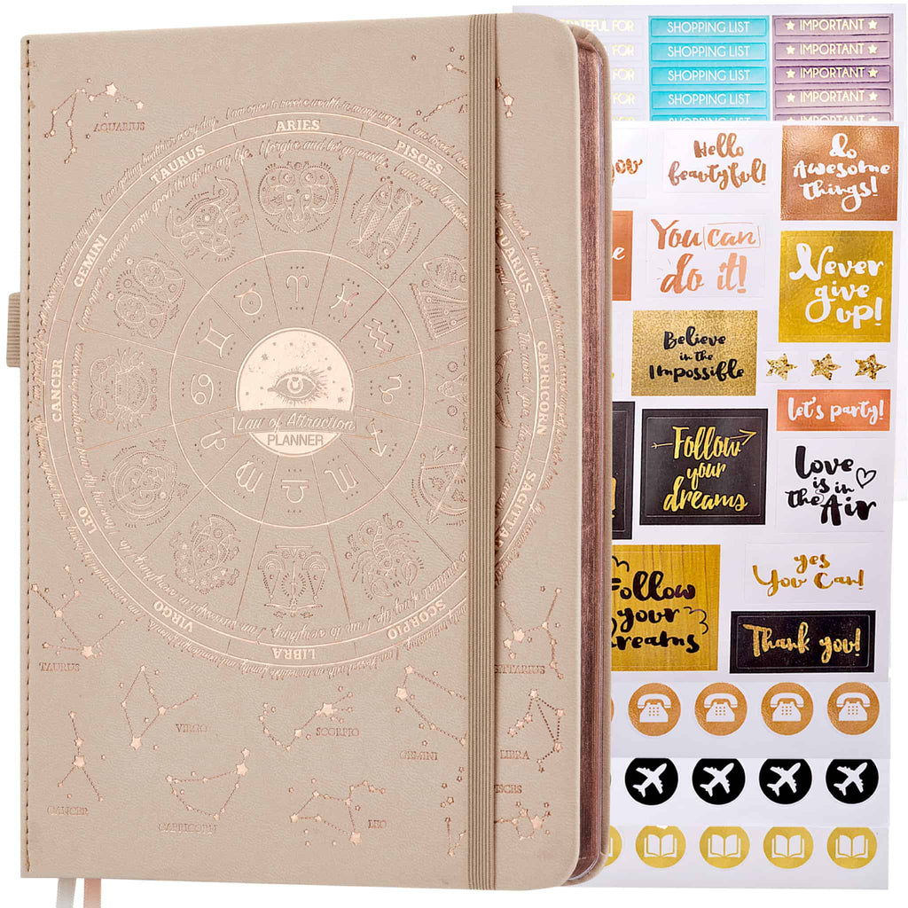 Undated Deluxe LOA 12 Month Planner (A5 size: 6 x 8.5 inches)