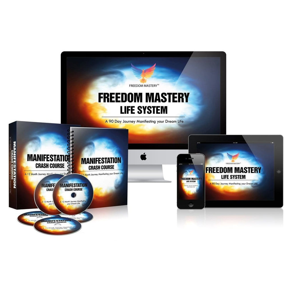 Freedom Mastery Life System (Digital Product - Online Video Course)