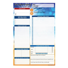 90 Day Daily Happy Notepad (Blue Sea)