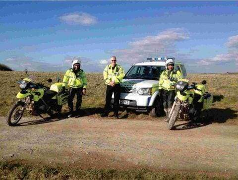 Crack down on salisbury plain offroading
