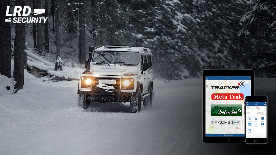Defender in the snow and tracker applications