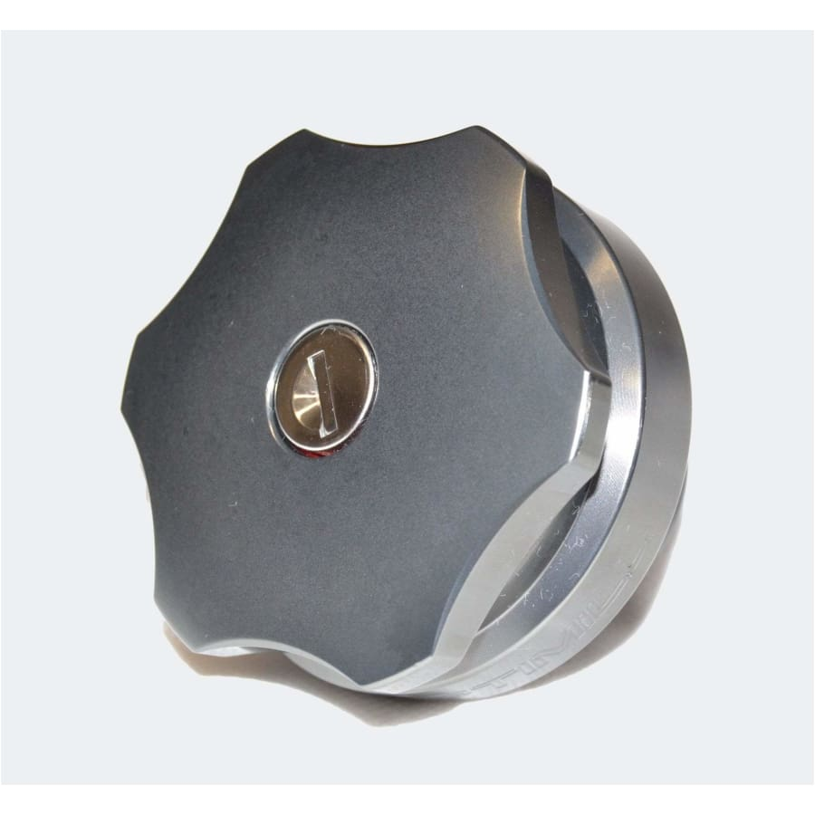 Optimill Aluminium Fuel Cap - Exterior Security