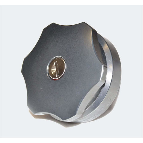 Image of Optimill Aluminium Fuel Cap - Exterior Security
