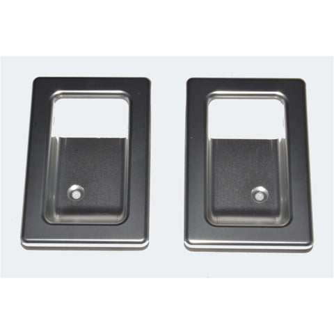 Optimill Door Lever Surrounds - Exterior Security