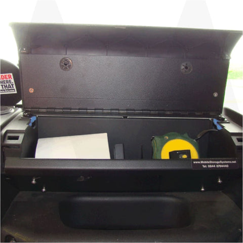 Image of Land Rover defender glove box