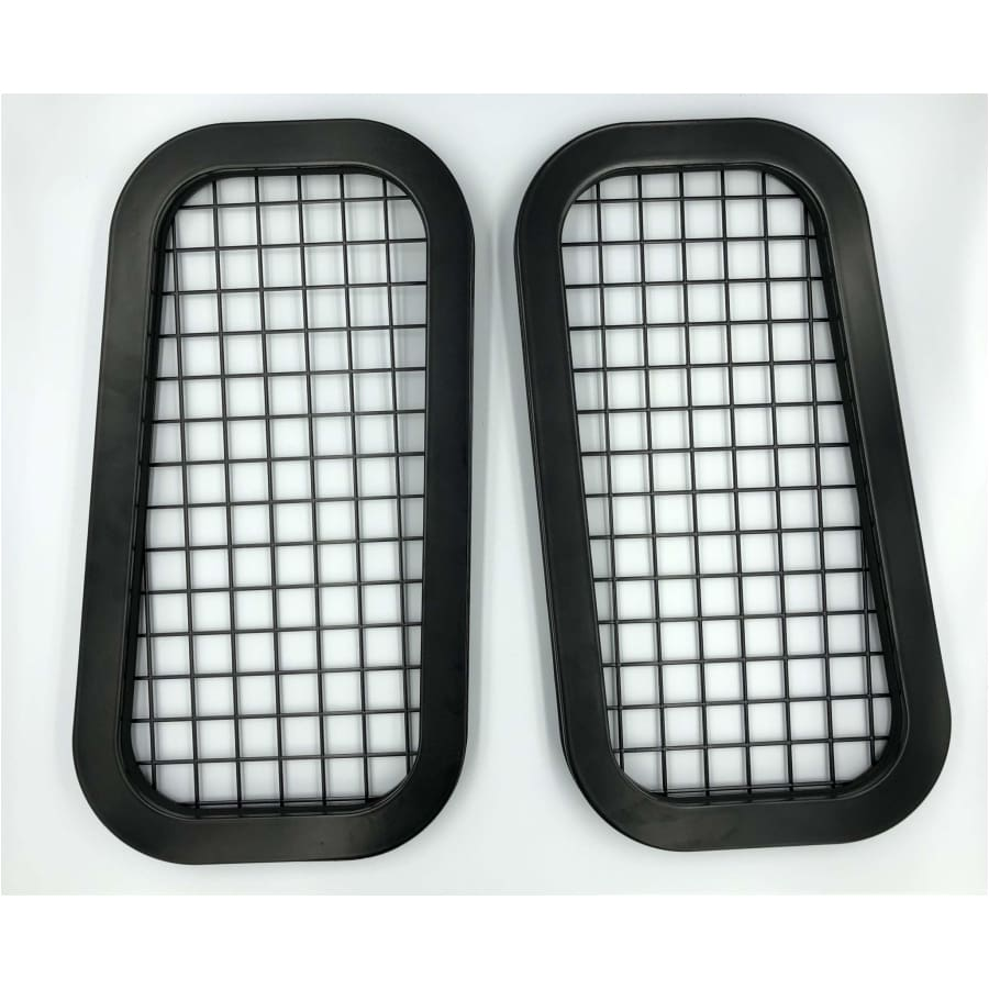 Rear quarter window guards