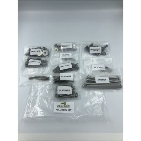 Defender Full Body Bolt kits - Exterior Security