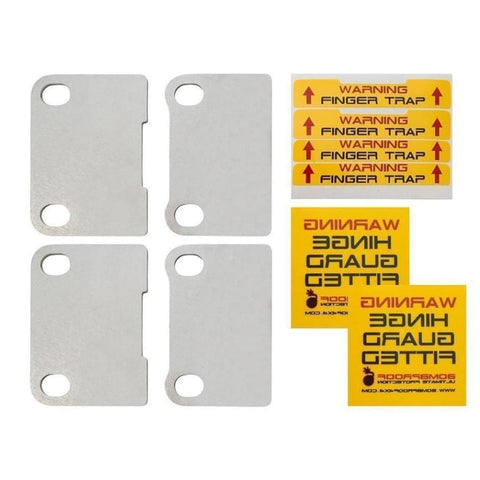 Image of Bomb proof 4x4 Defender door hinge security kit