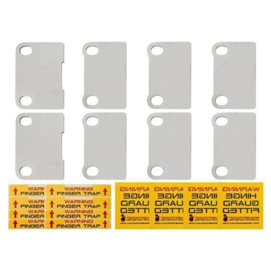 Bomb proof 4x4 Defender door hinge security kit