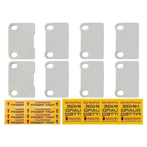 Image of Bomb proof 4x4 Defender door hinge security kit - Exterior Security